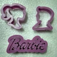 Cookies Cutter / Cetakan Fondant Barbie