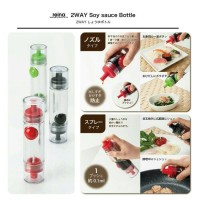 Jual Botol kecap bolak balik serbaguna 2 way sauce bottle 2 in 1 Murah