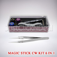 Magic Stick CW 6 In 1 Ceramic Tweezer Vape Vapor Tools Kit RDA RTA RBA