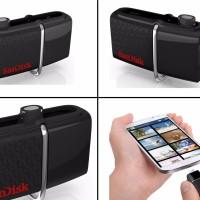 FD OTG 32GB - SANDISK DUAL DRIVE flashdisk USB 3.0 ASLI ORIGINAL RESMI