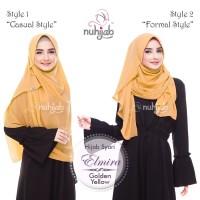 Jual DISKON 10% Jilbab Instant - NUHIJAB Shawl Instant Elmira Murah
