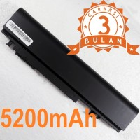 Baterai Dell Studio XPS 16 1645 1640 1647 U011C (6 CELL) OEM - Black
