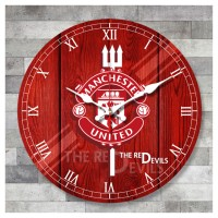 Jam Dinding Manchester United 40cm f5f6dfc9a9