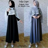 Jual Iska Cape Maxi Dress Murah