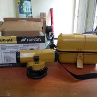 waterpass Topcon ATB4 lengkap 1set garansi