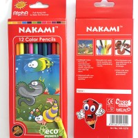 Pensil Warna Panjang 12 Color Pencil