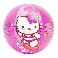 NEW PROMO BOLA PANTAI / RENANG HELLO KITTY BEACH BALL 51CM - INTEX #58