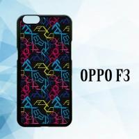 Casing Hardcase HP Oppo F3 Fox Wallpapers Motocross X4532