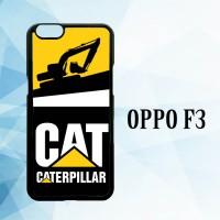 Casing Hardcase HP Oppo F3 caterpillar excavator X5861