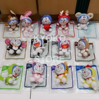 Jual Boneka Doraemon Lucky Charms Chinese Zodiac McDonald (Set of 13) Murah