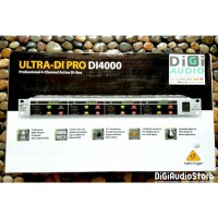 BEHRINGER ULTRA-DI PRO DI4000 4 Channel DI Direct Box - DI Box Audio
