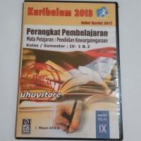 CD RPP PPKN Kurikulum 2013 Revisi 2017 Untuk SMP MTs Kelas 9 IX