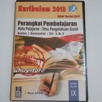 CD RPP IPS Kurikulum 2013 Revisi 2017 Untuk SMP MTs Kelas 9 IX