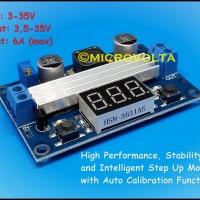 100W LTC1871 Step Up DC-DC w Voltmeter from 3-35V to 3,5-35V, 6A max