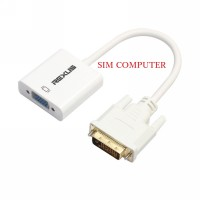 DVI TO VGA DVI2VGA DVI-D 24-1 Male to VGA Female Active Adapter Conver