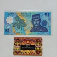 harga Uang Kuno Brunei Darussalam 1 Ringgit Th 1996 Polymer Tokopedia.com
