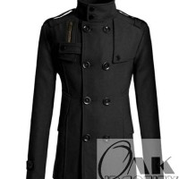 Jual COAT BLAZER BLACK SHANGHAI WINTER Jaket Coat Blazer Overcoat Murah