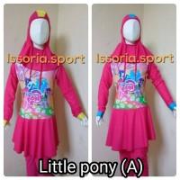 Jual Baju renang muslim anak tanggung karakter cewek. Murah