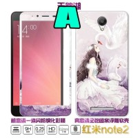 Case plus Tempered glass gambar hp Oppo Neo 9 A37