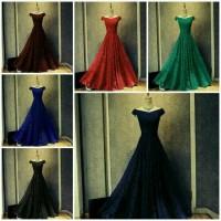 harga Long Dress Gaun Pesta Brokat / Baju Pesta Brokat Tokopedia.com