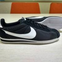 Sepatu Big Size - Nike Cortez Nylon Black Original