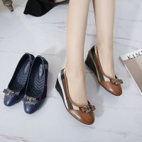 BURBERRY WEDGES SHOES 1288-8