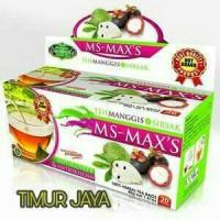 Jual MS-MAX'S Teh Herbal Kulit Manggis dan Daun Sirsak Murah