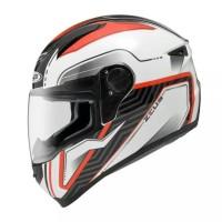Helm Zeus ZS-811 White/AL16 Red