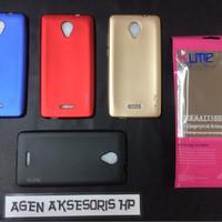 UME Emerald Andromax L Smartfren 4G LTE 4.5 SoftJacket Slim Anti Baret