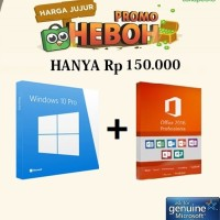 Jual Lisensi Key Windows 10 Pro & Office Professional Plus 2016 Murah