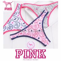 TERBATAS Pink Victoria's Secret VS Gstring Thong Lingerie Bra BH Sport