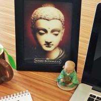 Poster Buddha 3D Satuan (Perpcs)