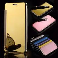 Samsung Galaxy J3 Pro Flipmirror Smart View Casing Sarung Hp Mirror