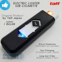 BEST SELLER KOREK ELEKTRIK USB CIGARETTE LIGHTER BY TAFF