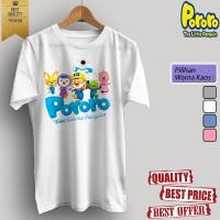 Baju kaos t-shirt dewasa/anak KARTUN TV PORORO 01