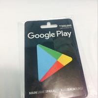 Google Play Card Voucher