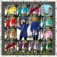 Jaket Funny Bear & Rabbit