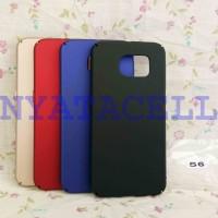 Hard Case Baby Skin Samsung S6 Flat Soft Touch Matte Dove Hardcase Gea