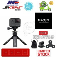 SONY SPA-MK20M Mini Tripod Smartphone Action Camera + Spinner & Mount