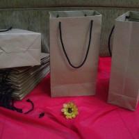 Tas Kertas /Paper Bag Polos Uk.13,5 x 8 x 24,5 cm