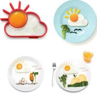 Jual Koleksi terbaru   Matahari awan cetakan omelette telur Sun clouds Murah