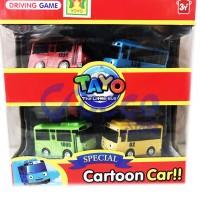 Tayo The Little Bus Special Cartoon Car 4pcs [YOYO]