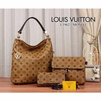 Louis Vuitton Hobo L1962 Set 3in1