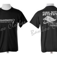 Kaos SHIMANO Fishing Kail Pancing Tackle Joran Rods Reel Mancing Mania