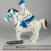 Mainan kuda putar pegas lucu kuda lari pegas running horse lucu