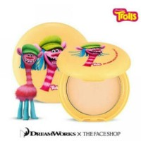 Jual The Face Shop x Dreamworks Trolls Oil Clear Smooth&Bright Pact Murah