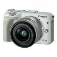 kamera canon EOS M3 kit 15-45 STM (READY BLACK DAN WHITE)