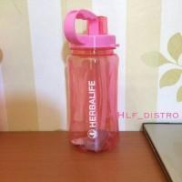 Jual [Bonus sikat sedotan] Jual botol-herbalife warna pink 1,5 lt 1.5 liter Murah