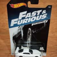 Hot Wheels The Fast And Furious FF 7 Brian Toyota Supra White Limited