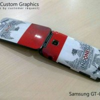 Custom Skin for Samsung GT-C3520 Indonesia Style Texture